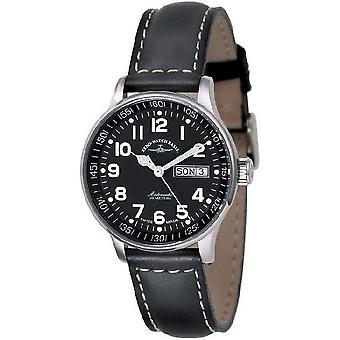 Zeno-watch mens watch medie dimensioni nero 336DD-a1