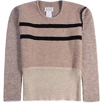 Maison Margiela Knitted Jumper Beige
