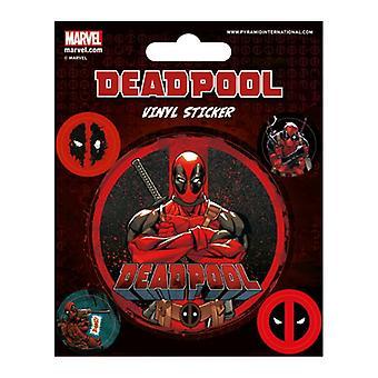 Deadpool, Vinyl stickers