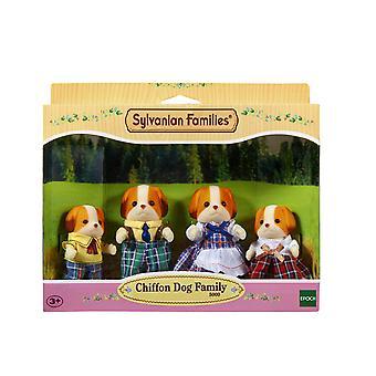 Sylvanian Familie Chiffon Hundefamilie