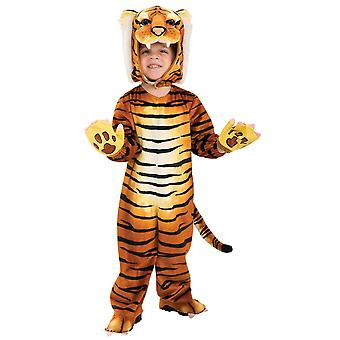 Tiger Deluxe Animal Zoo Jungle Safari Africa Book Week Toddler Child Boy Costume