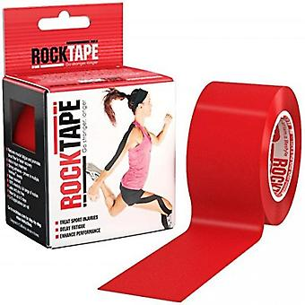 Rocktape Hypoallergenic Strong Adhesive Kinesiology Tape Roll - Red