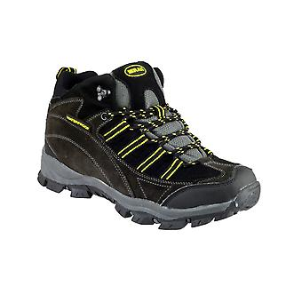 Mirak Mens Kentucky Hiker Mens Hiking Boot Grey/yellow