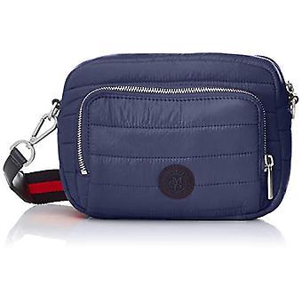 Marc OPolo 90718310801550 Blue Women's shoulder bag (Blue (true navy 884)) 7x20x27 cm (B x H x T)