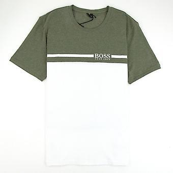 Hugo Boss Trend T-paita vihreä/valkoinen