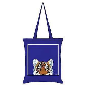 Inquisitive Creatures Tiger Tote Bag