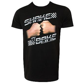 Talladega Nights Shake N Bake Men's Black T-Shirt