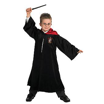 Kinder Deluxe Harry Potter Robe Welt Buchtag Halloween Fancy Kleid Kostüm