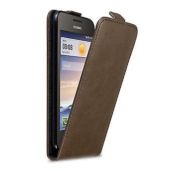 Cadorabo geval voor Huawei Y330 Case cover-telefoon geval in flip ontwerp met magnetische sluiting-Case cover geval geval geval boek vouwen stijl