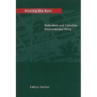 Afschuiven: federalisme en Canadese milieubeleid