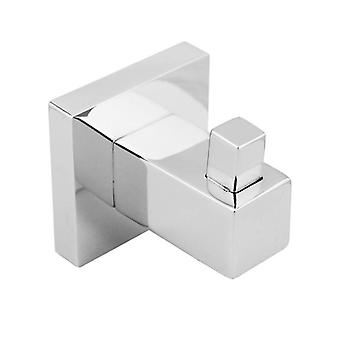 Gama Square Chrome Robe Hook