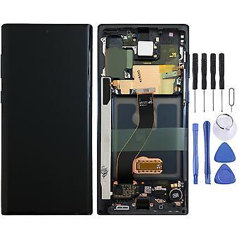 Samsung näyttö LCD täydellinen yksikkö Galaxy Note 10 N970F GH82-20818A musta