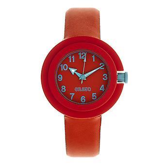 Crayo Equinox Unisex Watch - rood/Cerulean