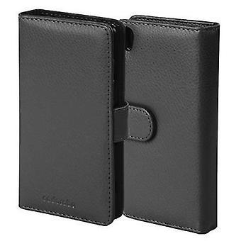 המקרה cadorabo עבור Sony Xperia Z5 מקרה מקרה כיסוי המקרה-במקרה טלפון עם אבזם מגנטי ו-3 כיסים כרטיסי – מקרה כיסוי מקרה המגן מקרה הספר בסגנון קיפול