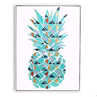 Fractured Fruit Framed Print
