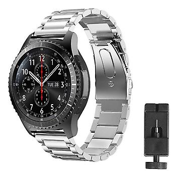 Armband Rsf Stål Samsung Gear S3 Frontier/classic (silver)