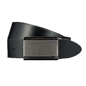 BERND GÖTZ belts men's belts leather belt black 569