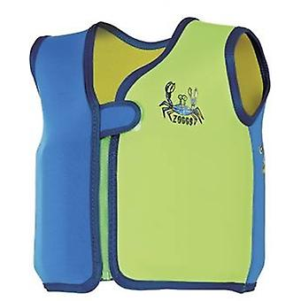 Zoggs Bobin Swim Jacket - Deep Sea Blue Design-Age 2 - 3