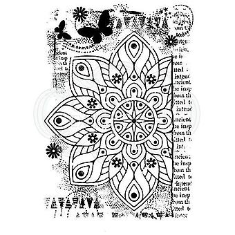 Woodware Clear Stamp Ancient Mandala