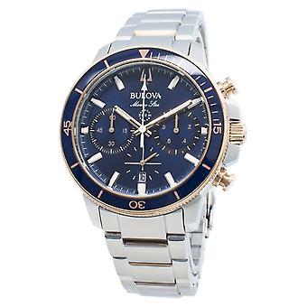 Bulova Marine Star 98b301 chronograaf Quartz mannen ' s horloge