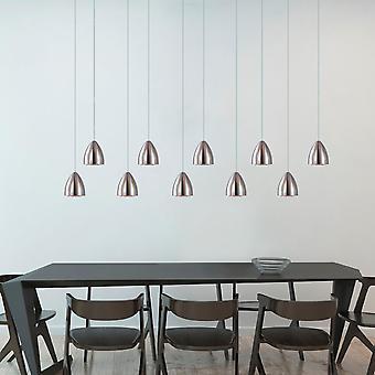 Brillcool Terra nikkel tien hanger rechthoekige luifel