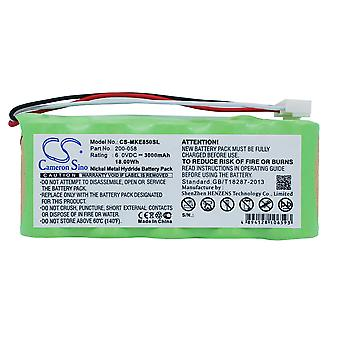 Battery for GE 200-058 Panametrics Olympus Magna-Mike 8500 Thickness Gauge Ni-MH
