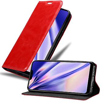 Futerał Cadorabo do obudowy Vivo Y81i - etui na telefon komórkowy z magnetycznym zapięciem, funkcją stojaka i komorą na kartę - Etui ochronne Case Book Folding Style