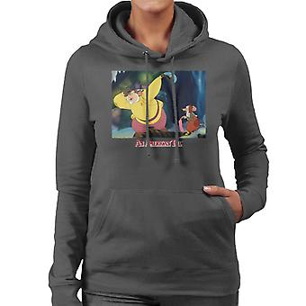 An American Tail Papa Searching Women's Hooded Sweatshirt