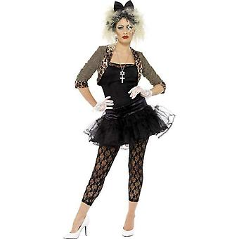 80s Wild Child Costume Adult Black