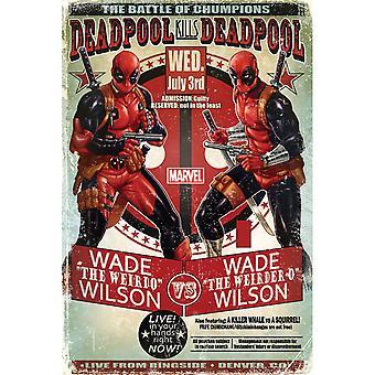 Deadpool, Maxi Plakat - Wade vs Wade