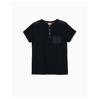 Zippy Blau T-shirt Navy