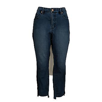 Martha Stewart Women's Petite Jeans Petite 5-Pocket Blue A307747