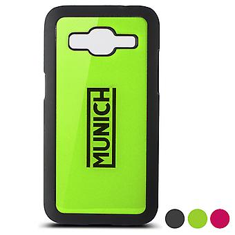 Mobiele cover Galaxy Core Prime Munich Fluor Line/Green