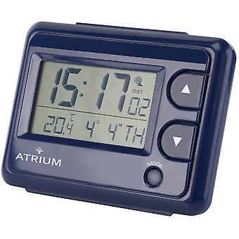 ATRIUM wekker Digitale Quartz Radiowekker A720-5 Licht binnentemperatuur Blauw