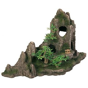 Trixie Rock Con Cave/plants (Fish , Decoration , Rocks & Caves)