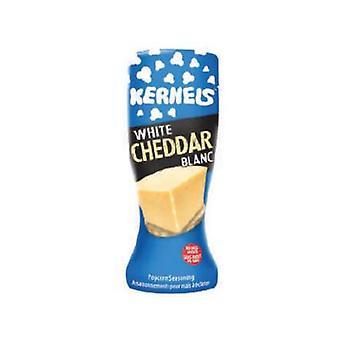 Kjerner-mmm Hvit Cheddar Popcorn Seas-( 1.45lb )