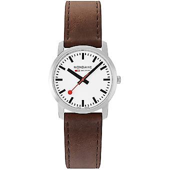 Mondaine M400.30351.11SBG Simply Elegant Dames Horloge