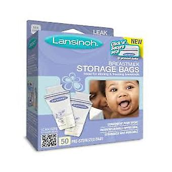 Lansinoh breastmilk storage bags, 50 ea