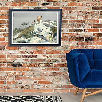Winslow Homer - Rough Work (1883) Poster Print Giclee