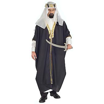 Désert d'arabe cheikh Sultan arabe Aladdin Prince Genie Dress Up Costume hommes