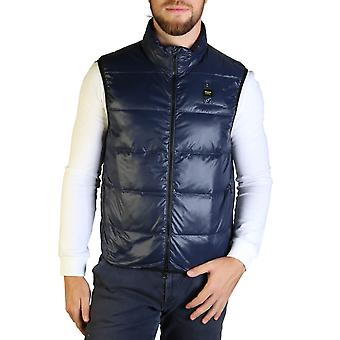 Blauer Original Men Fall/Winter Jacket - Blue Color 35699