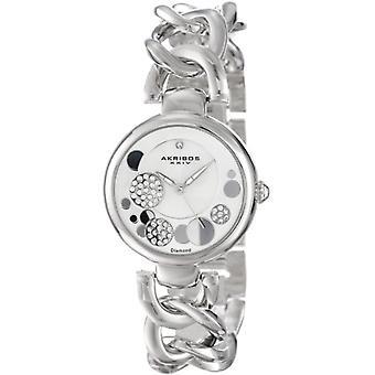ساعة اليد Akribos XXIV AK678SS للمرأة