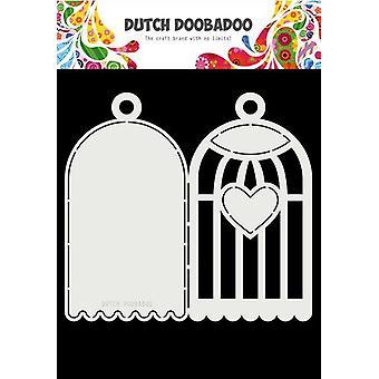 Dutch Doobadoo Card Art A4 Birdhouse 470.713.770