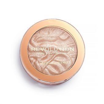 Makeup revolution highlighter Reloaded turde at røbe