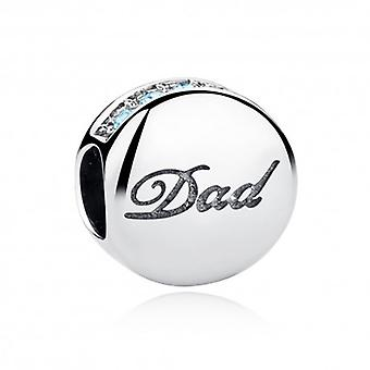 Sterling Silver Charm Dad - 5324