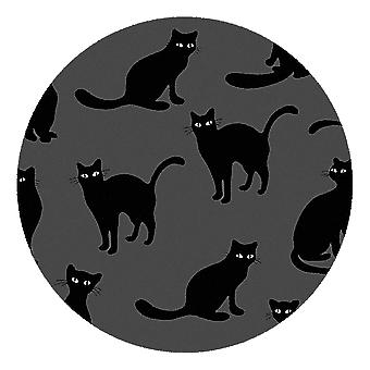 Kids Rug - Cats II - Wasbaar - Cirkel 115 cm