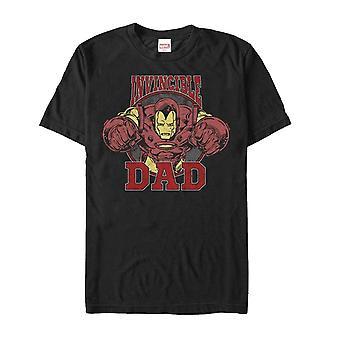 T-shirt De papa de Père-apos;s Day Iron Man Invincible