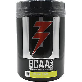 Universal Nutrition BCAA Stack Dietary Supplement - 100 Servings - Lemon Lime