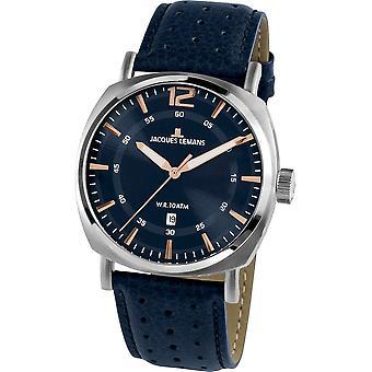 Jacques Lemans - Wristwatch - Uomini - Lugano - Sport - 1-1943C