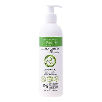 Telové mlieko Biolab Aloe & bambus Alyssa Ashley (300 ml)